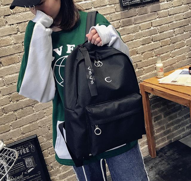 Рюкзак классный чёрный
