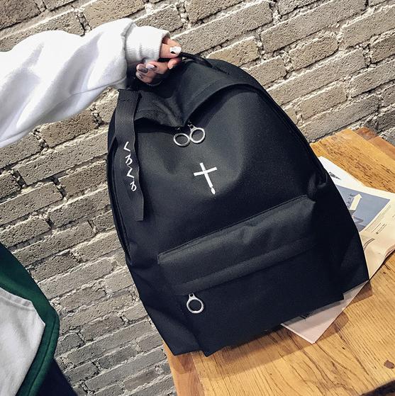 Рюкзак чёрный Крест