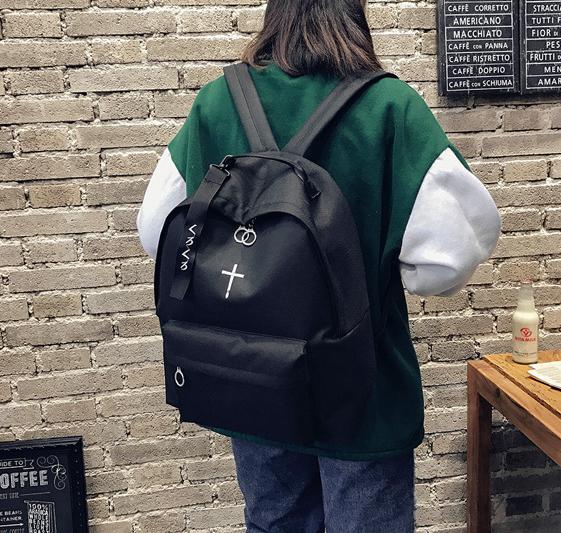 Рюкзак жекнский чёрный