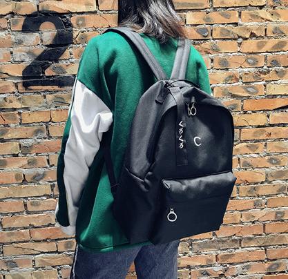 Рюкзак молодёжный чёрный