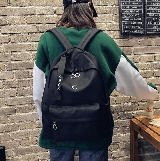 Рюкзак современный чёрный