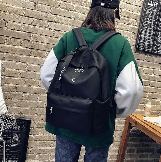 Рюкзак чёрный Луна