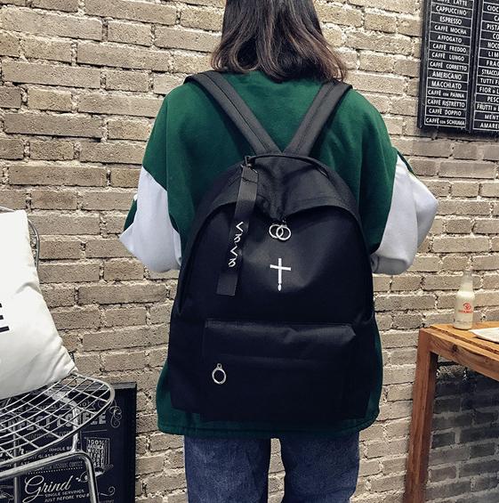 Рюкзак чёрный унисекс