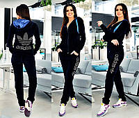 Велюровый спортивный костюм адидас в Украине. Сравнить цены, купить ... f77b018ae5e
