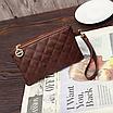 Рюкзак женский из кожзама набор стеганый 3 в 1 Серый, фото 3