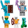 """Конструктор лего майнкрафт Аналог Lego Minecraft Bela 10735 """"Горная пещера"""" 2886 дет, фото 10"""