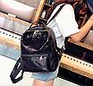 Рюкзак женский Style с пайетками Черный, фото 2