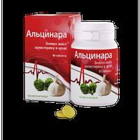 БАД для печени Альцинара таблетки -  нормализация обмена веществ и снижению содержания холестеринав крови 60