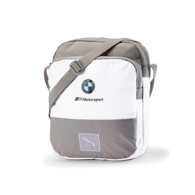 Сумка Puma BMW M Motorsport Large Portable | цвет белый