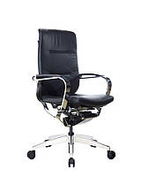 Coast GT-1033EB эргономичное черное кожаное кресло для руководителя GTCHAIR