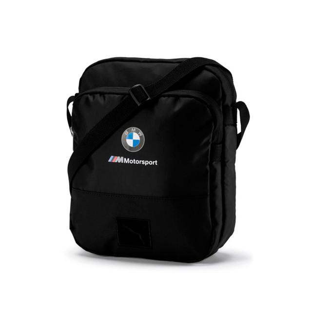 Сумка Puma BMW M Motorsport Large Portable | цвет черный