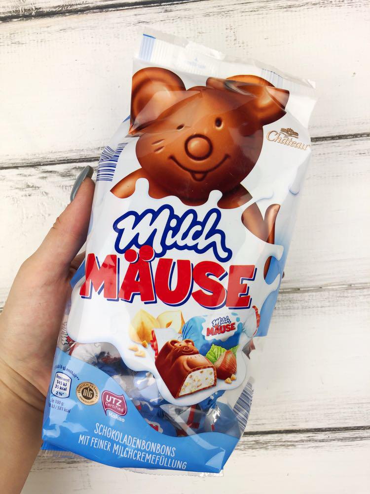 Шоколадные конфеты Milch Mause