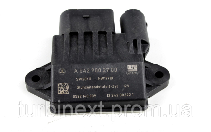 Реле свечей MERCEDES 6429002700 MB Sprinter (W906)/Vito (W639) 3.0CDI 06-/10-