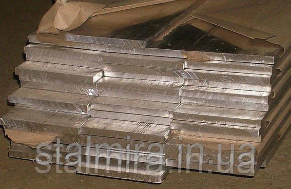 Полоса алюминиевая 50, толщина 10, марка алюминия АД0, АД31, Д16, АМг2, АМг6, В95
