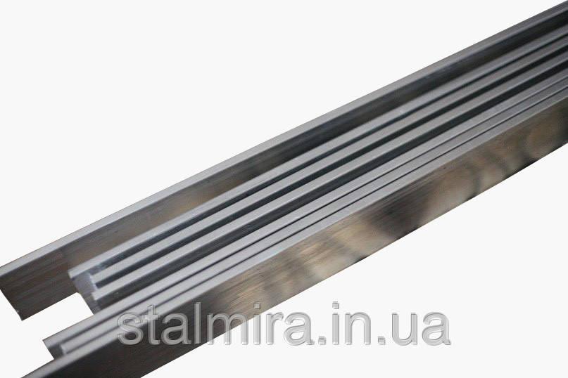 Полоса алюминиевая 80, толщина 10, марка алюминия АД0, АД31, Д16, АМг2, АМг6, В95
