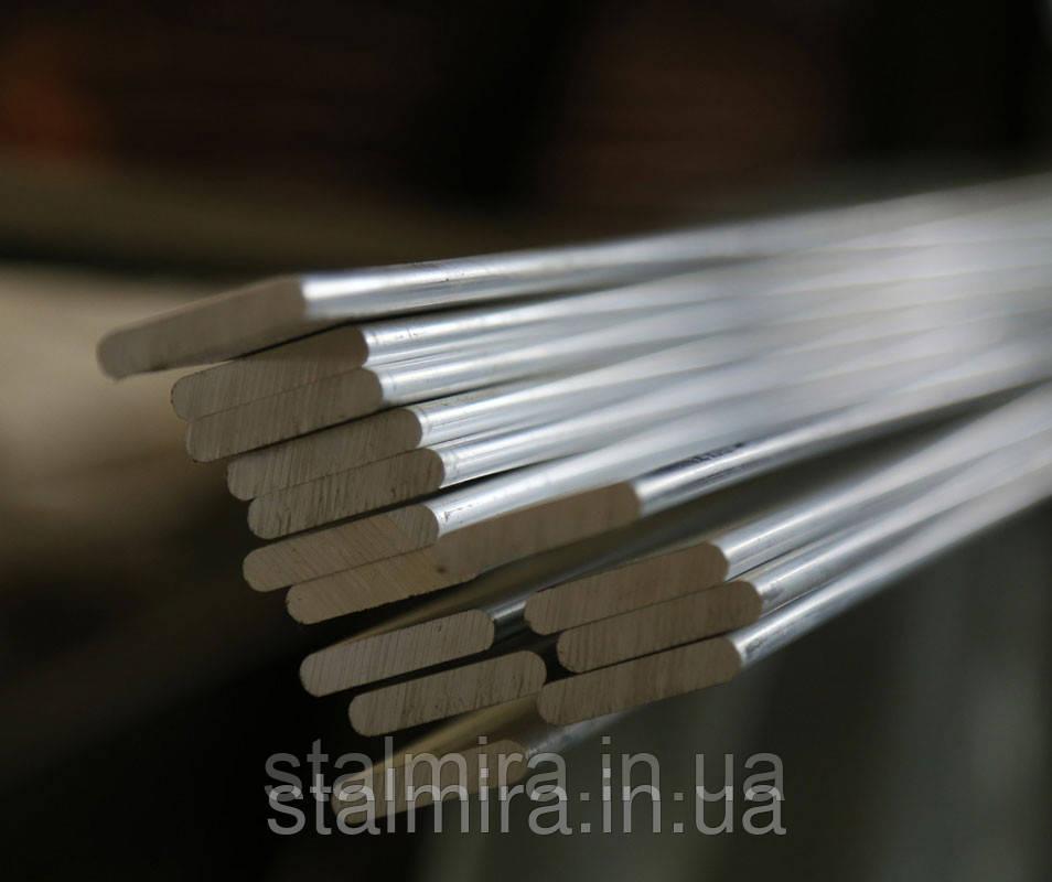 Полоса алюминиевая 100, толщина 5, марка алюминия АД0, АД31, Д16, АМг2, АМг6, В95