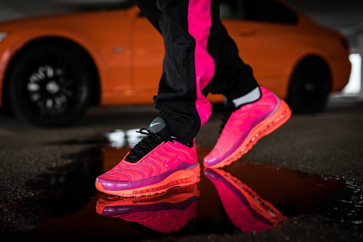 9c3aa74b Кроссовки Nike Air Max 97 / Plus Pink — в Категории
