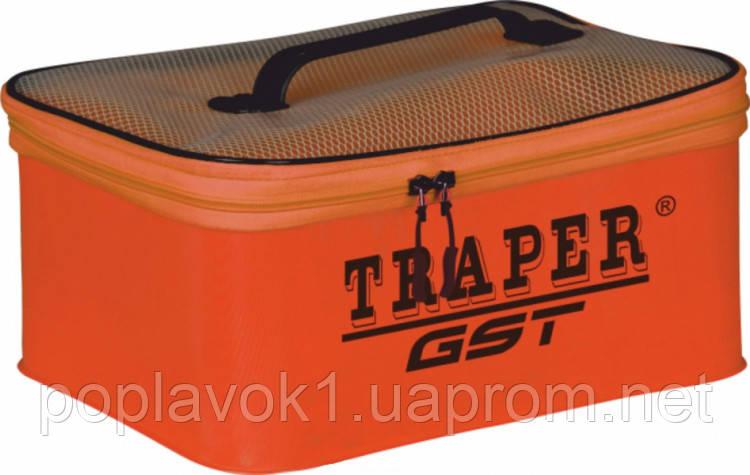 Сумка Traper MF PVC (с крышкой) 23х14х13 Красная