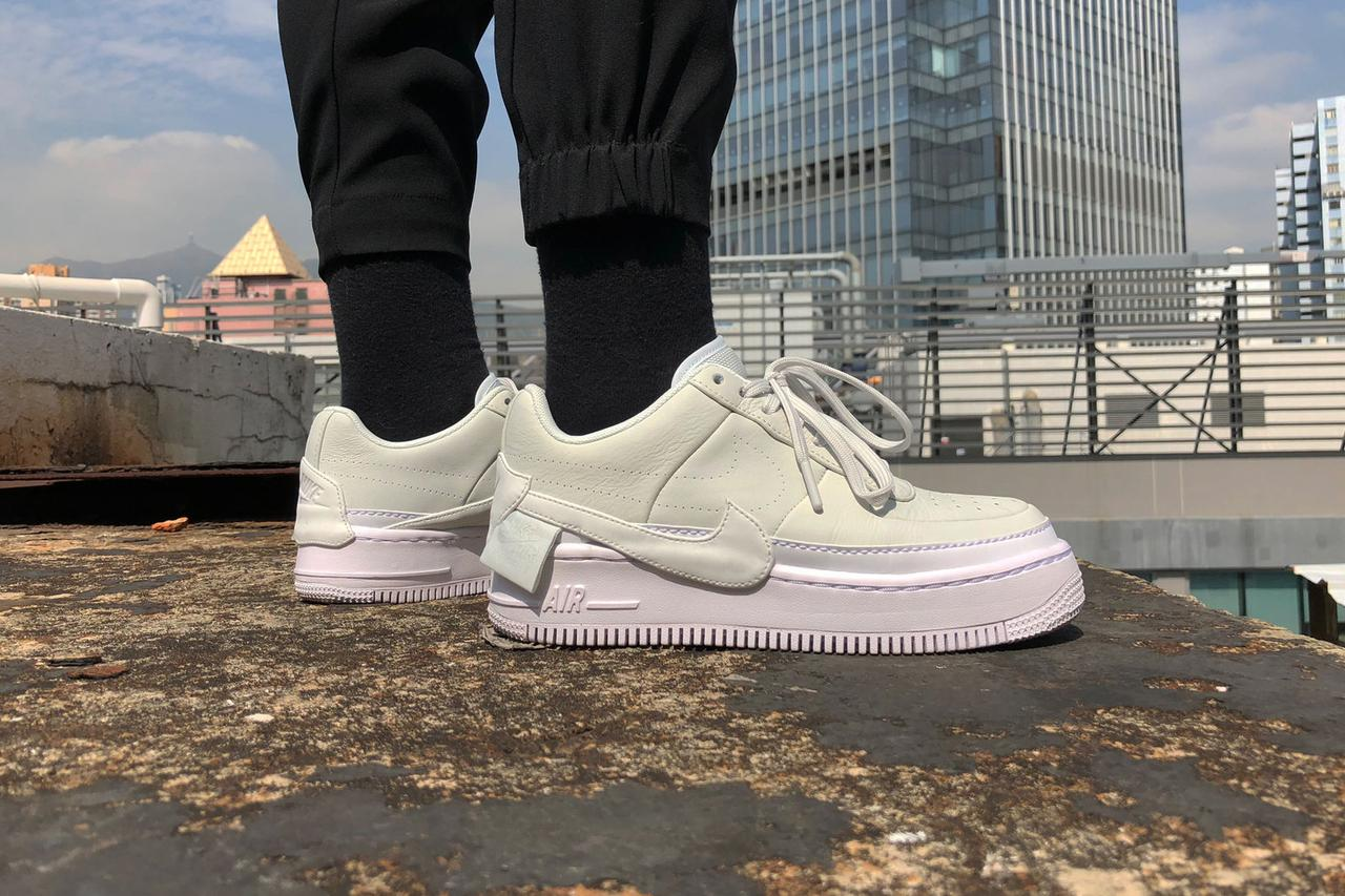 21c18d97 Кроссовки Nike Air Force 1 Jester XX (White / White – Black) — в ...