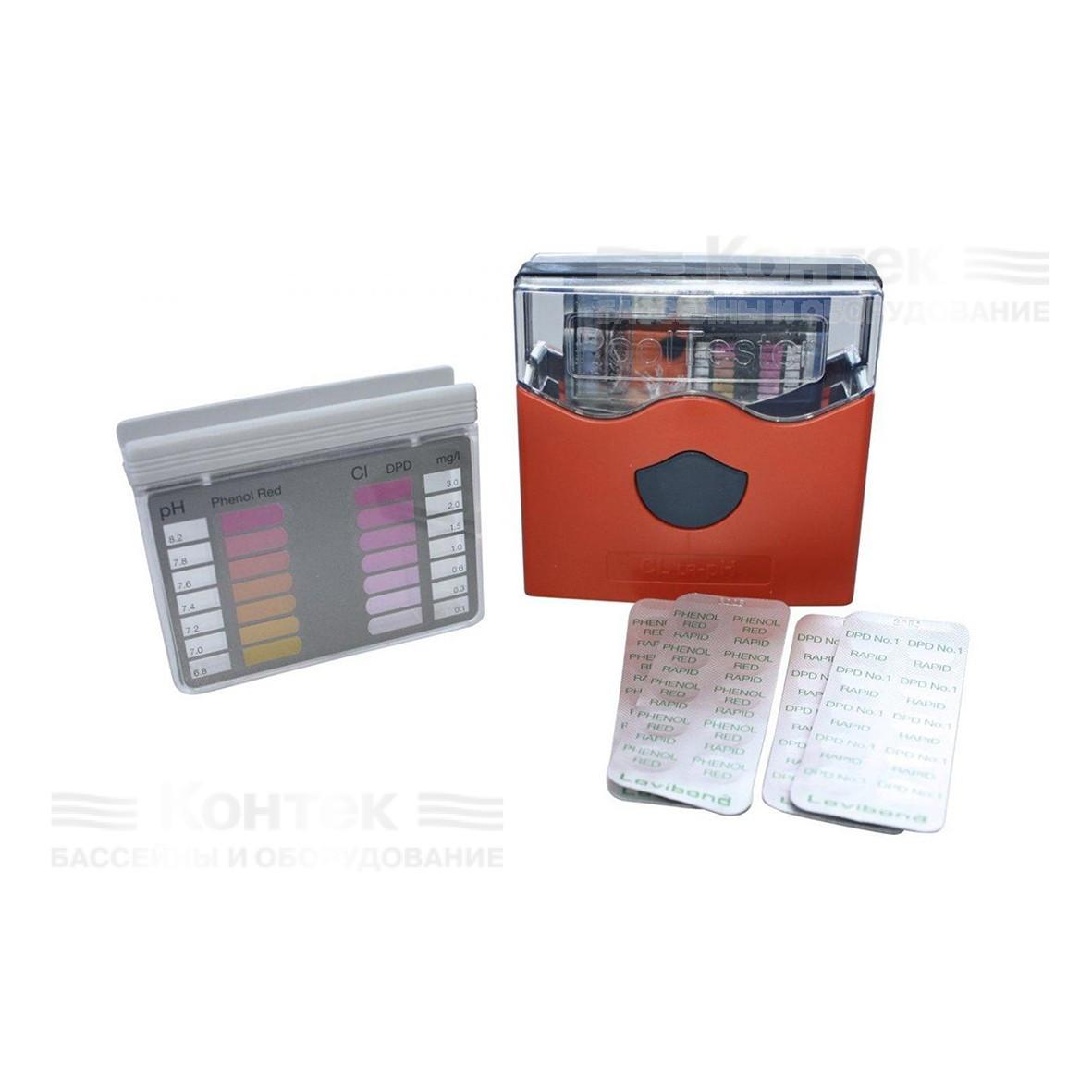 Компонент для фотометра тестера Lovibond и Bayrol для определения уровня pH в воде бассейна (10 шт)