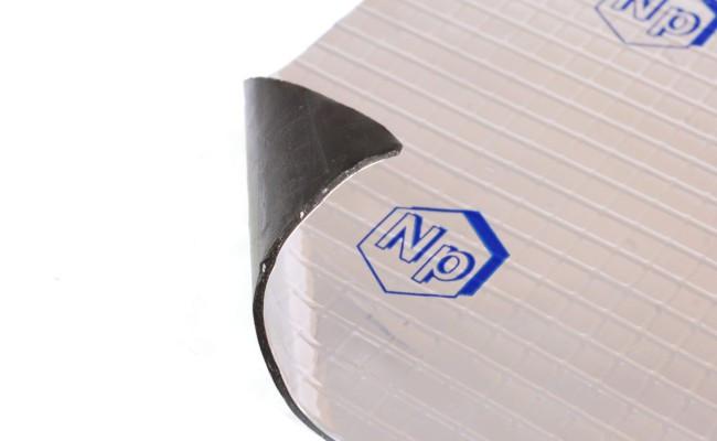 Виброизоляция Виброфильтр 2 мм, размер 70х50 см.