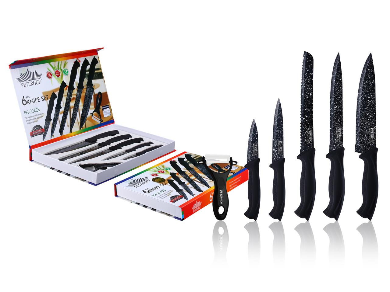 Набор ножей Peterhof PH-22428 - 6пр