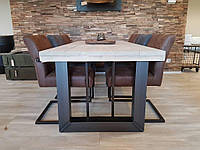 Стол обеденный лофт, фото 1