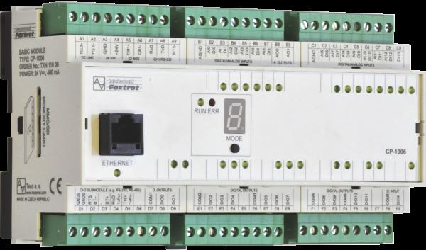 Универсальный свободно программируемый контроллер Tecomat Foxtrot CP-1006/1016