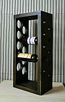 Полка винна . Подарункова поличка для вина на 10 пляшок.