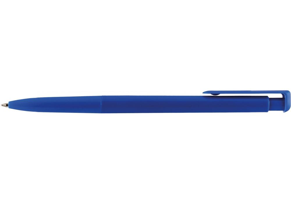Ручка шариковая автомат. ECONOMIX SILVER STAR 0,5 мм. Корпус ассорти, пишет синим