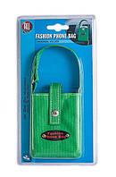 Универсальная сумочка для телефона/очков, зеленый цвет