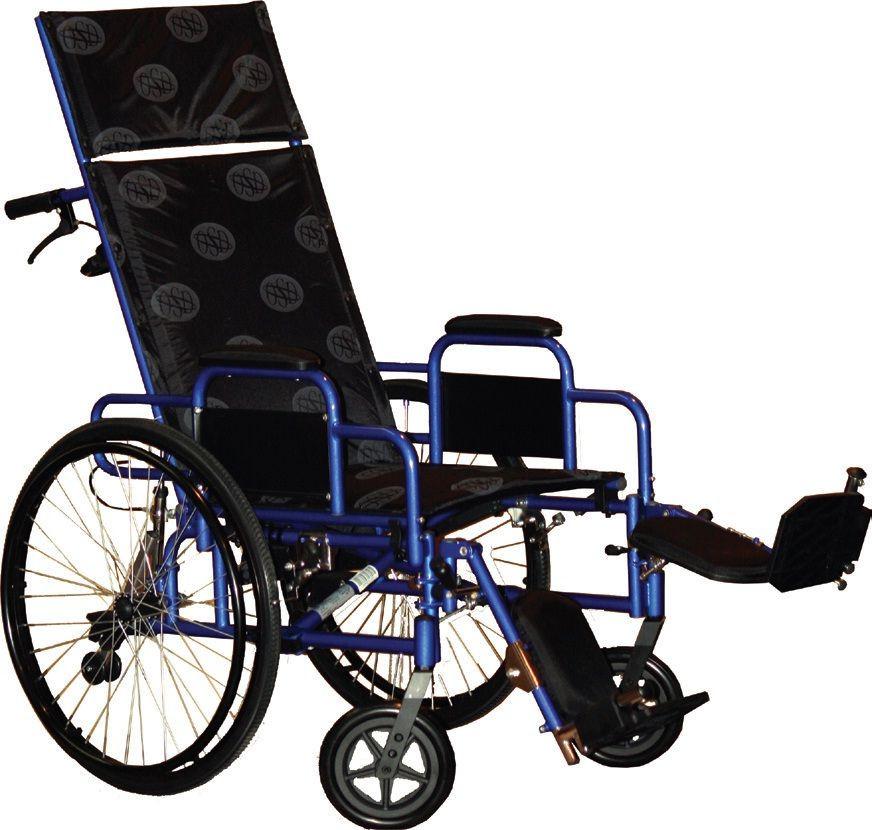 Многофункциональная инвалидная коляска RECLINER