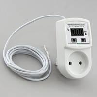 Терморегулятор для термомата 16А длина провода 2м