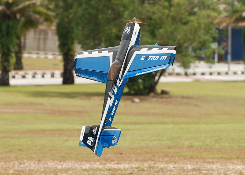 Самолёт р/у Precision Aerobatics Extra MX 1472мм KIT (синий) 2711888214349