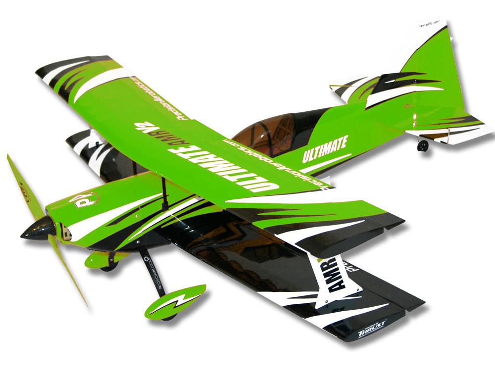 Самолёт р/у Precision Aerobatics Ultimate AMR 1014мм KIT (зеленый) 2711683246873