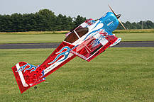 Самолёт р/у Precision Aerobatics Addiction XL 1500мм KIT (красный), фото 2