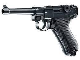 Пневматический пистолет Umarex Luger P 08