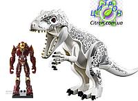Динозавр Индоминус Длина 29 см с большой фигуркой  Лего Конструктор динозавр, фото 1
