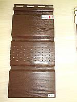 Софіт Vox Вокс коричневий перферований 3,85 м х 0,30 см для підшивки даху (Польща)