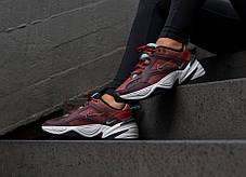 "Кроссовки Nike M2K Tekno ""Dark Brown/Turquoise"" (Темно-коричневые), фото 2"