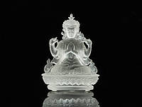 Статуя Хрустальная Лио Ли. Авалакитешвара (Ченрезиг). Кристальная (9х7х5 см)