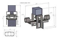 Сливной клапан СВ16 для промышленой стиральной машины