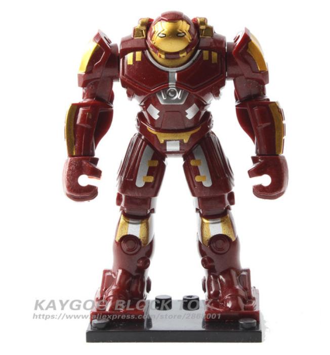 Железный человек большая фигурка Лего 7-9 см конструктор аналог Лего