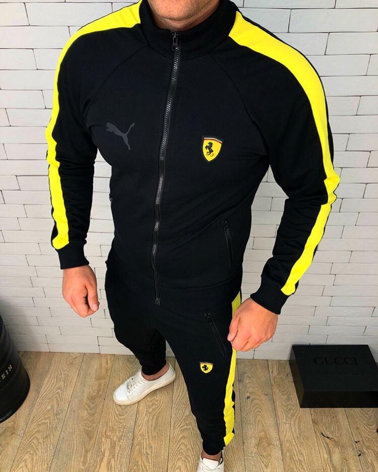 0a48c147 Стильный теплый спортивный костюм Puma Ferrari: продажа, цена в ...