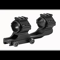 Моноблок-кольца для оптического прицела, крепление weawer