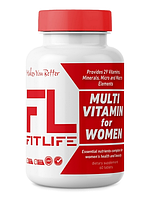 FitLife Multivitamin for Women 60 tabs