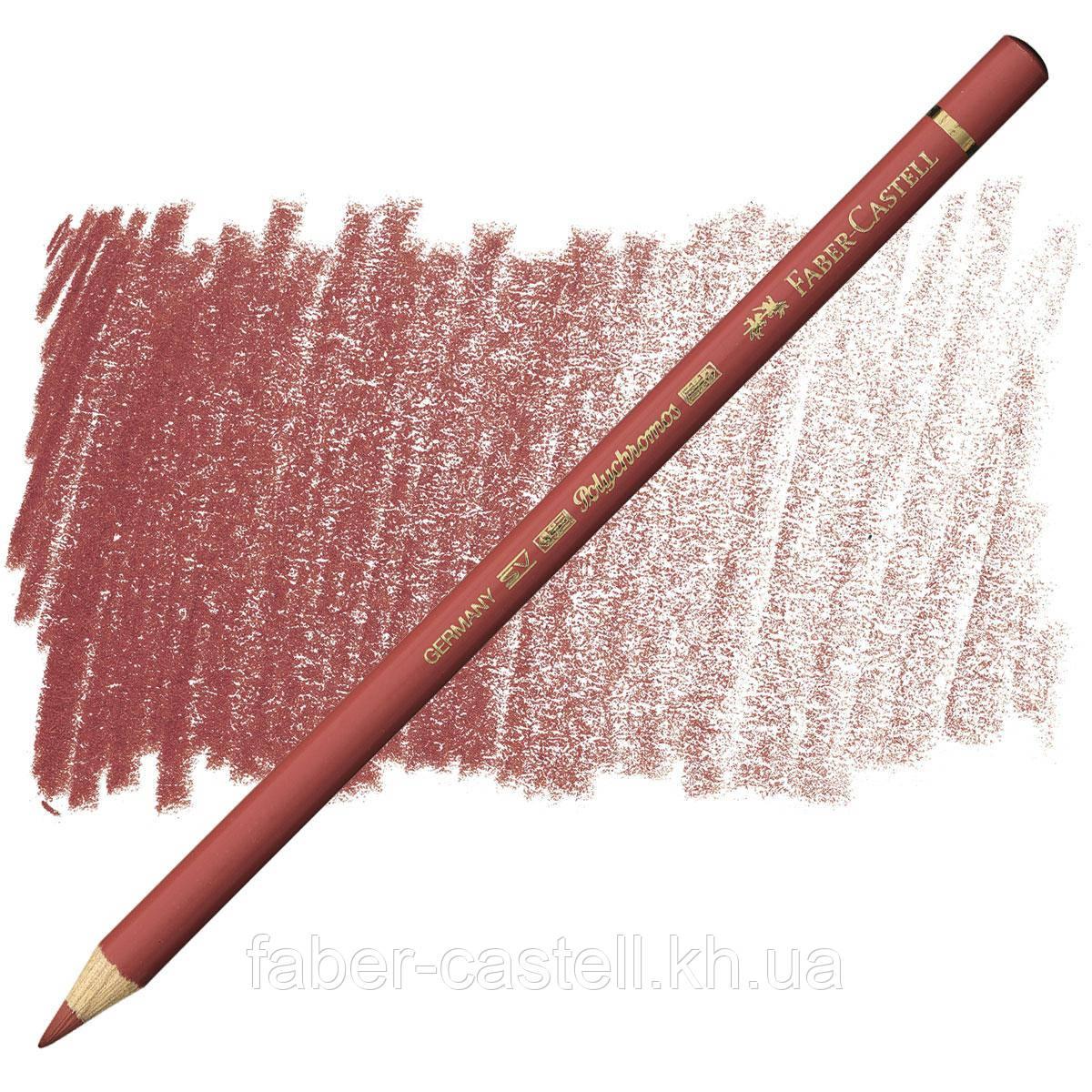 Карандаш цветной Faber-Castell POLYCHROMOS веницианский красный №190 (Venetian Red), 110190