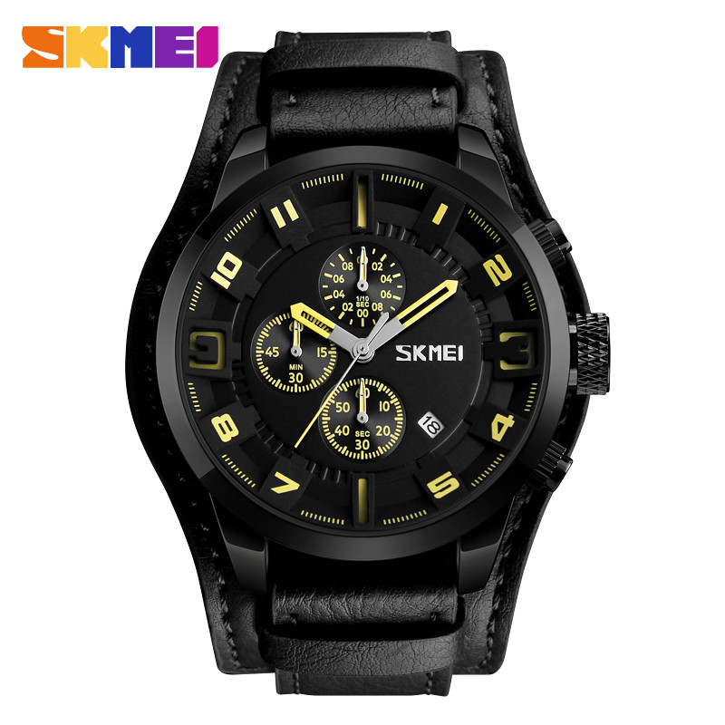 ЧАСЫ SKMEI 9165 Black Yellow
