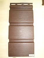 Софит  Vox Вокс коричневий без перферований розмір 3,85 м х 0,30 см (Польща)