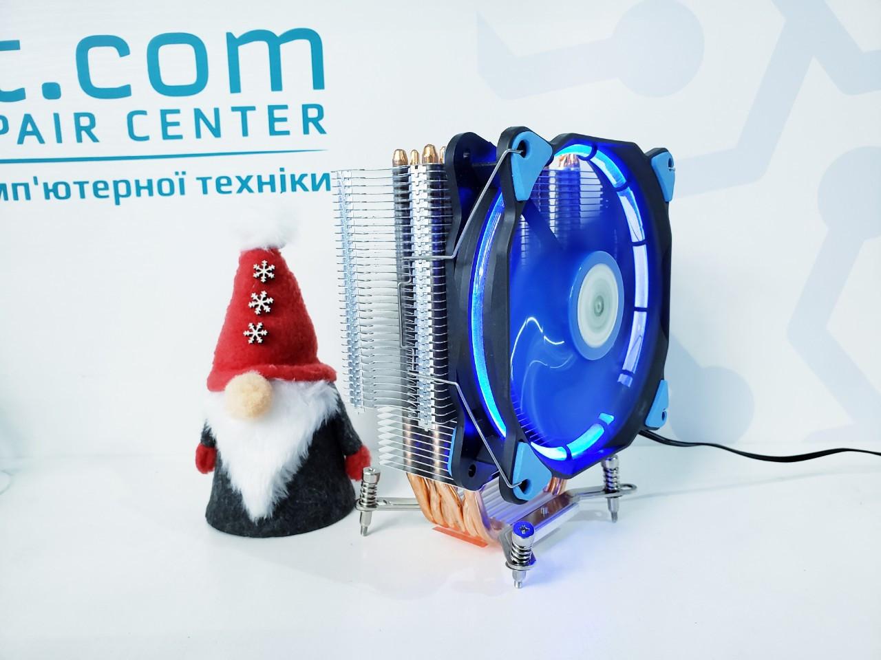 """Система охлаждения AVC 120мм/LGA 775/115x/1366 """"Over-Stock"""""""